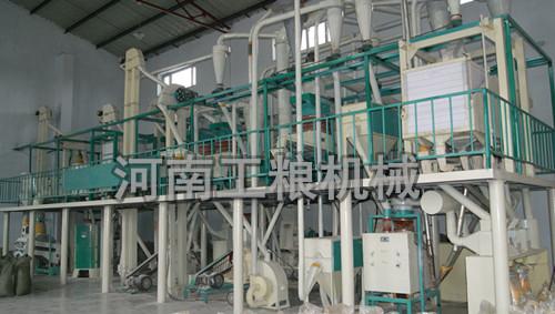 50吨级成套玉米加工设备