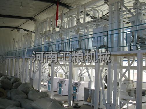 100吨级玉米加工机械