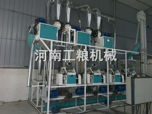 20吨级面粉加工设备