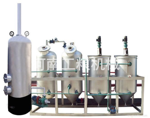 小型精炼油设备