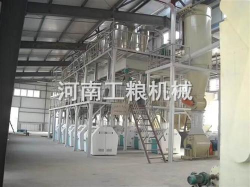 100吨级面粉加工设备