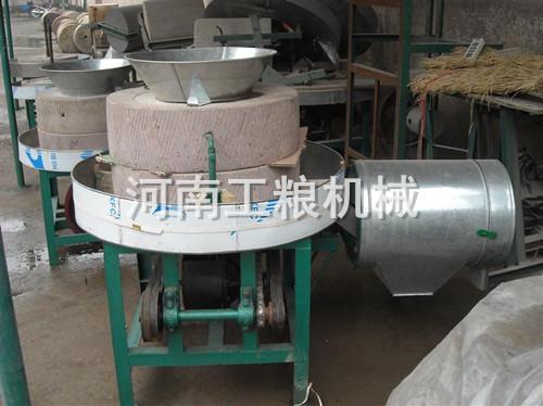 700型半自动石磨面粉机