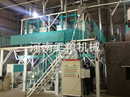 20吨级石磨面粉机