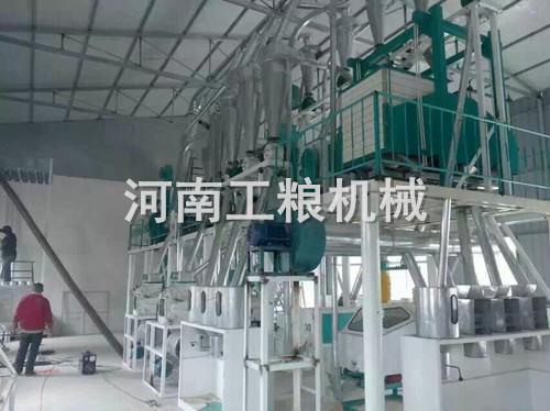山西阳泉30吨玉米加工设备